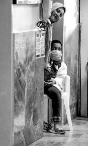 امیر حسین نقیان نفر سوم بخش سلامت و مادر و کودک